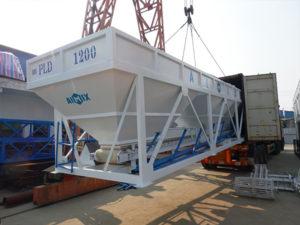 AIMIX concrete plant loading site 2