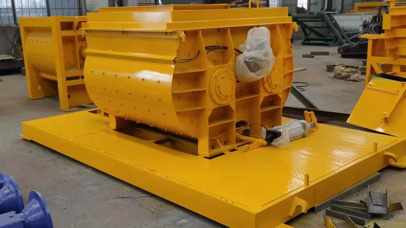 Aimix AJ35 concrete plant sent to Indonesia 1