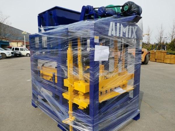 Aimix block machine sent to Bangladesh 1