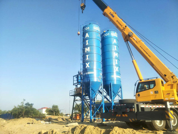 Aimix cement silo in Pakistan 3