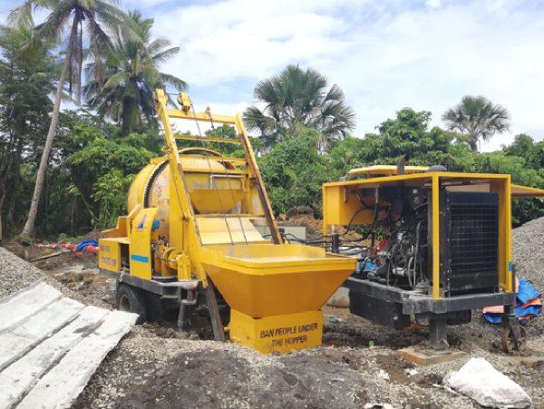 Aimix concrete mixer pump in Philippines