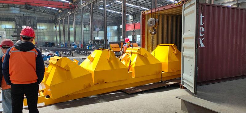 Aimix AJ60 concrete plant to Indonesia 2