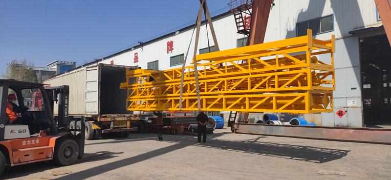 Aimix AJ60 concrete plant to Indonesia 4