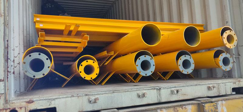 Aimix AJ60 concrete plant to Indonesia 5