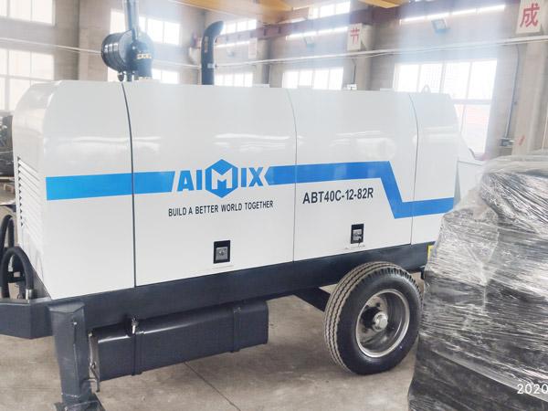 Aimix-diesel-concrete-pump-in-Ukraine-1