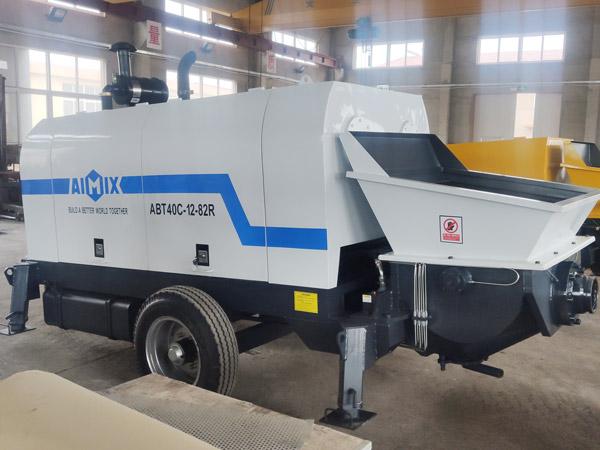 Aimix-diesel-concrete-pump-in-Ukraine-2