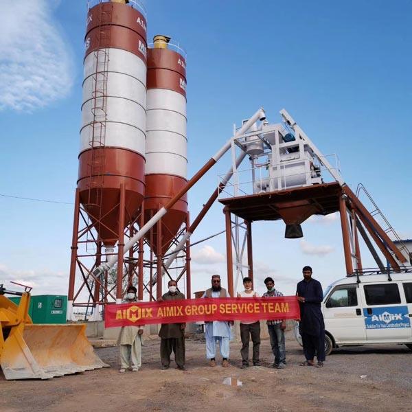 aimix concrete plant in Pakistan