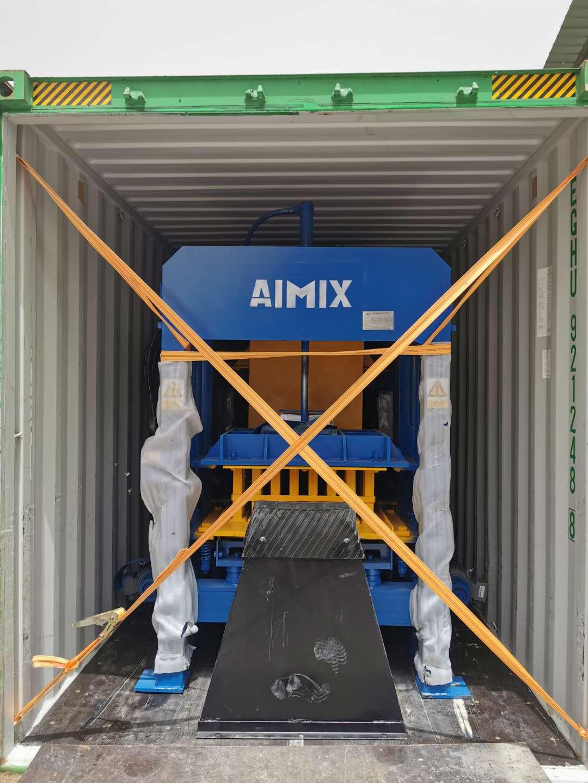 AIMIX block machine sent to Malaysia 2