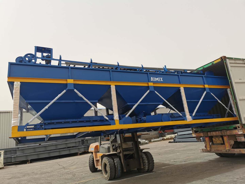 AIMIX block machine sent to Malaysia 3