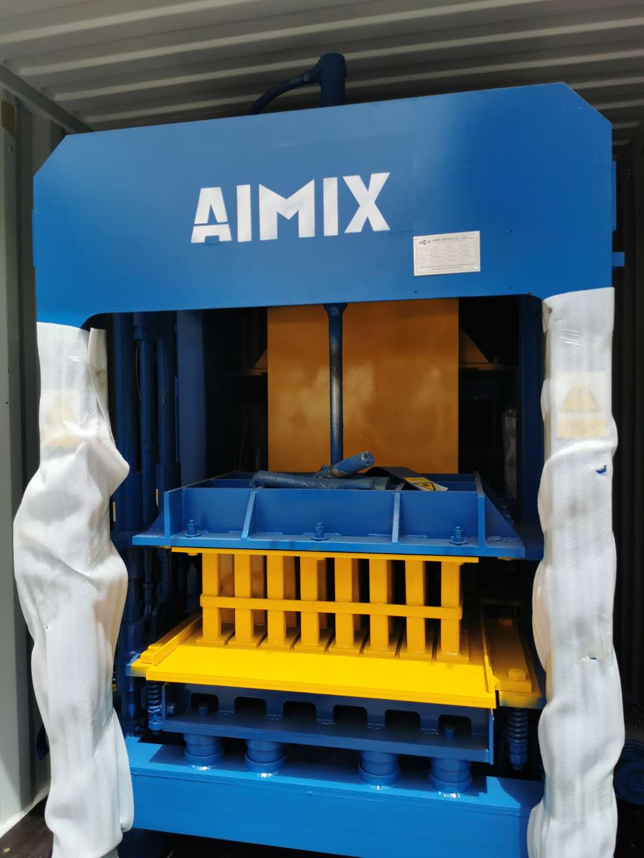 AIMIX block machine sent to Malaysia