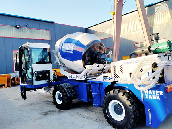 AIMIX self loading concrete mixer sent to Philippines