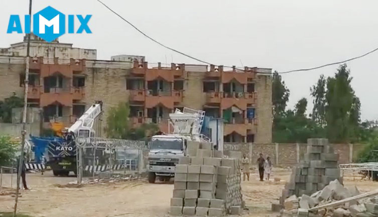 Aimix concrete plant loaded in Pakistan 4