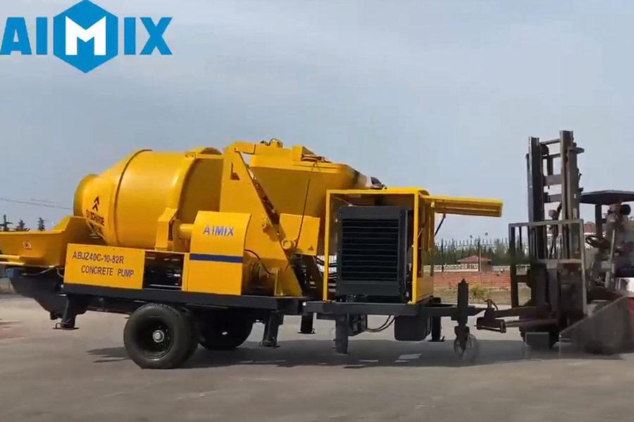 AIMIX mixer pump sent to South Sudan