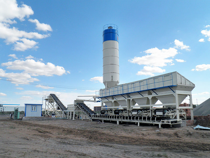 AIMIX stabilized soil mixing plant