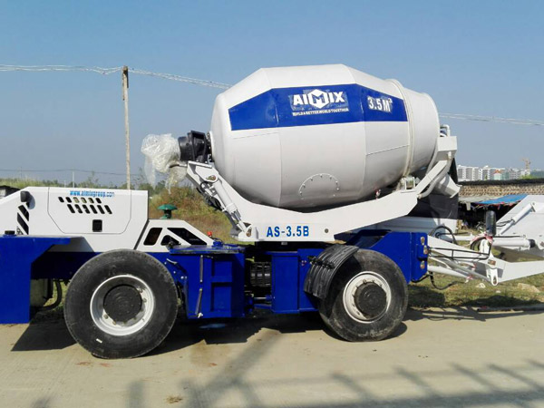 Aimix AS3.5B self loading concrete mixers