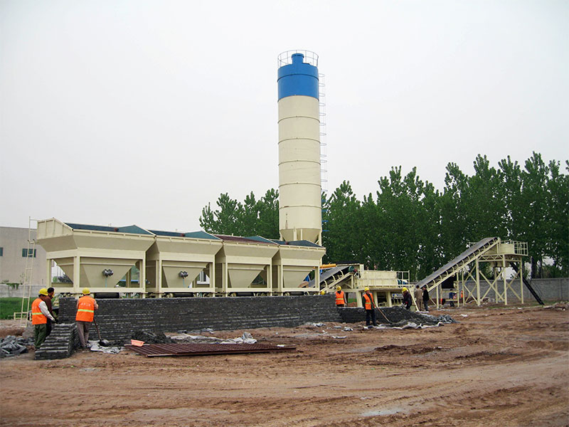 stabilized soil mixing plants