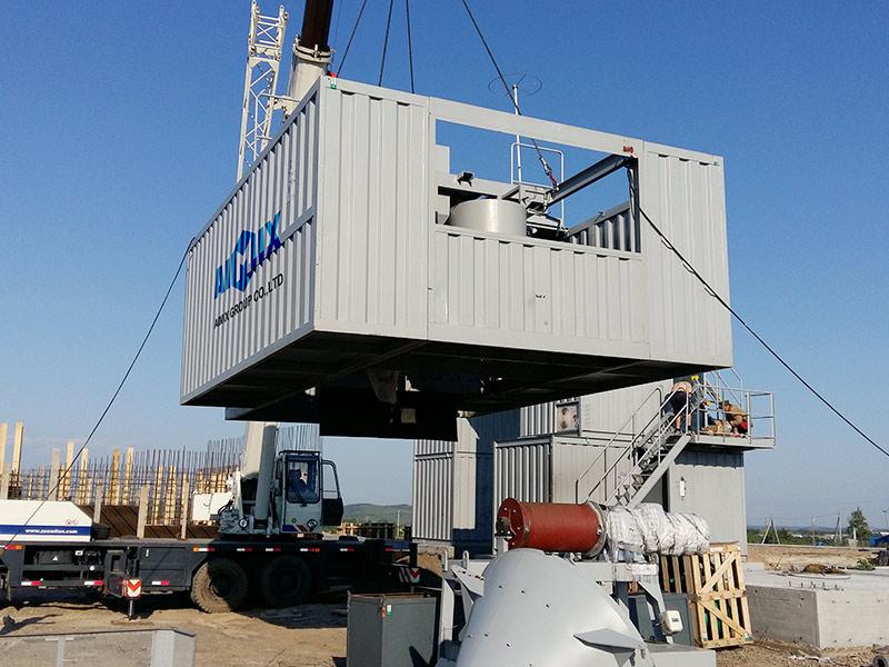 AIMIX Modular Concrete Batching Plant 4