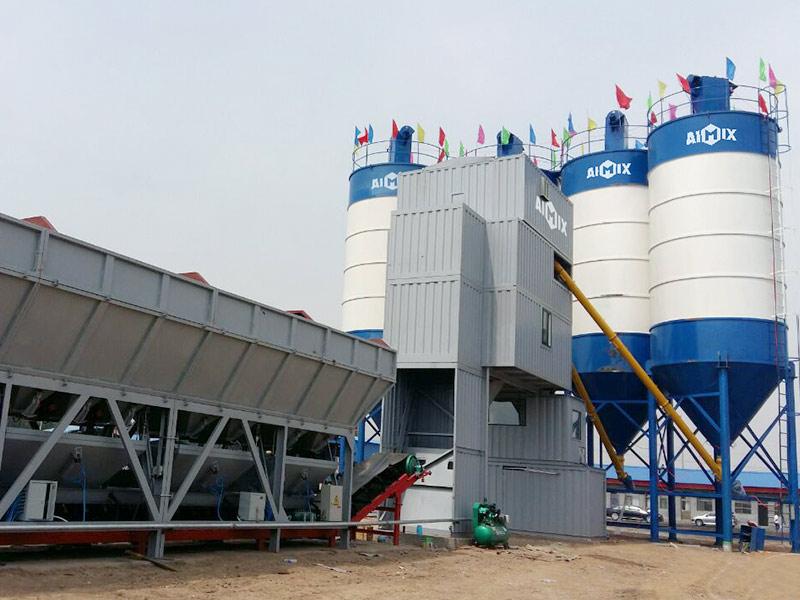 AIMIX Modular Concrete Batching Plant
