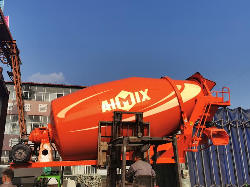 AIMIX concrete mixer drum sent Malaysia