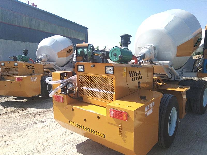 AIMIX self load mixer sent to Kenya