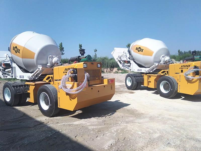 AIMIX self loading mixer sent to Kenya