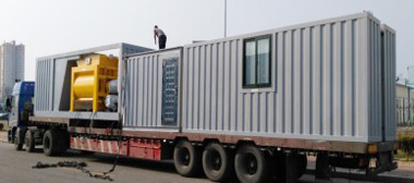 modular concrete plant case 1