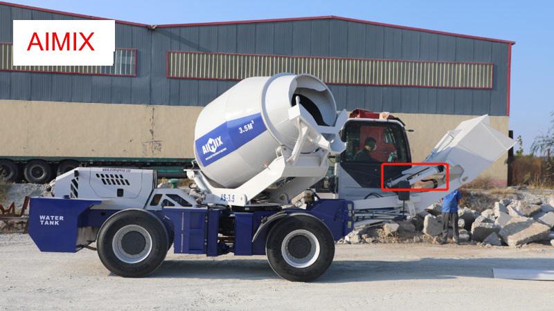 AIMIX self loadad concrete mixer