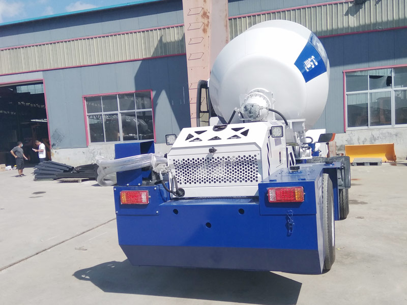3.5 self loading mixer sent to Kazakhstan
