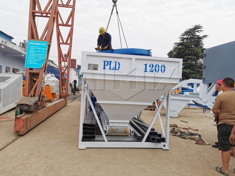 AIMIX stationary concrete plant sent to Armenia