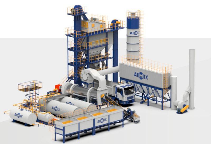 ALQ stationary asphalt mixing plant
