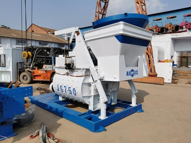 concrete plant sent to Armenia