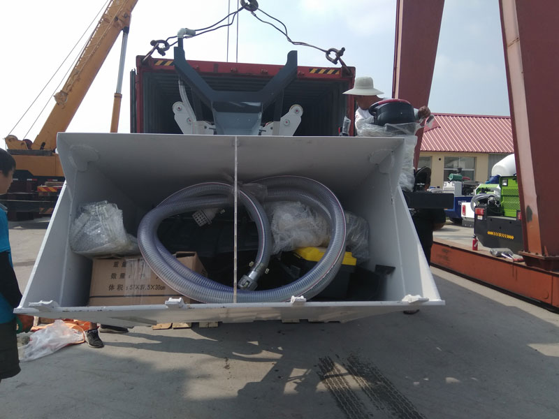 self loading mixer exported
