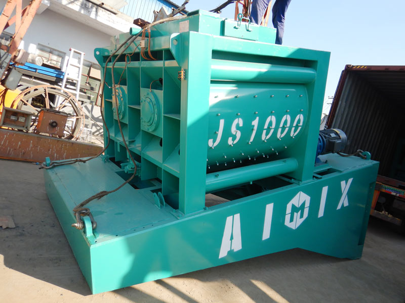 AIMIX 60 mobile batching plant to the Philippines