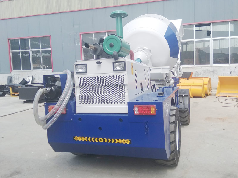 AIMIX AS1.8 self loading concrete mixer sent to Russia