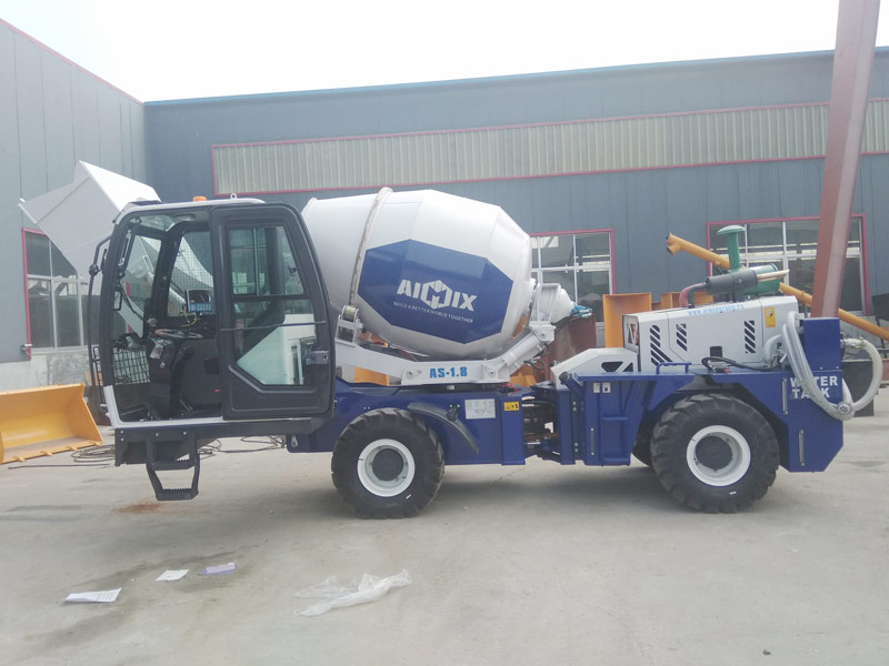 AS1.8 self loading mixer sent to Russia