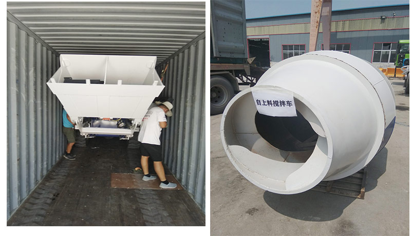 AS1.8 self loading mixer to Russia