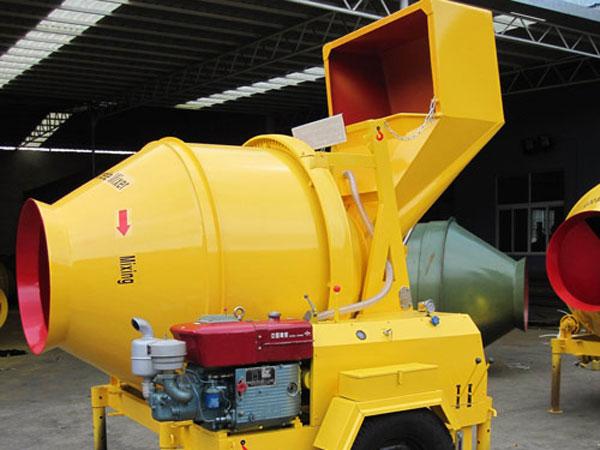 JZR350B mini mixer beton diesel