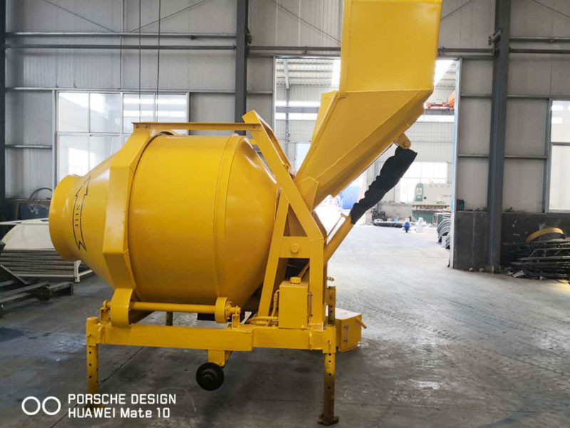 JZR500 small diesel concrete mixer