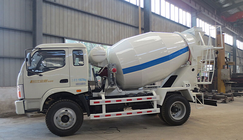 concrete mixer truck with chassis