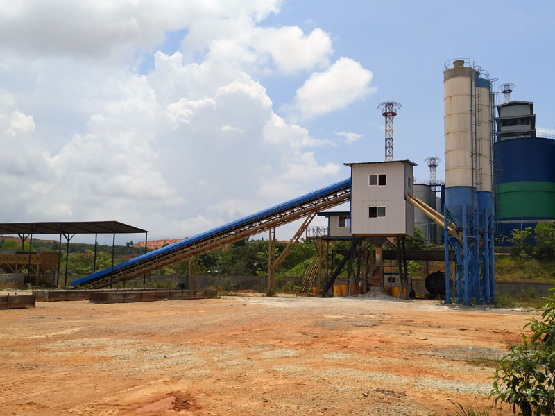 90 Concrete Batching Plant in Batam Indonesia