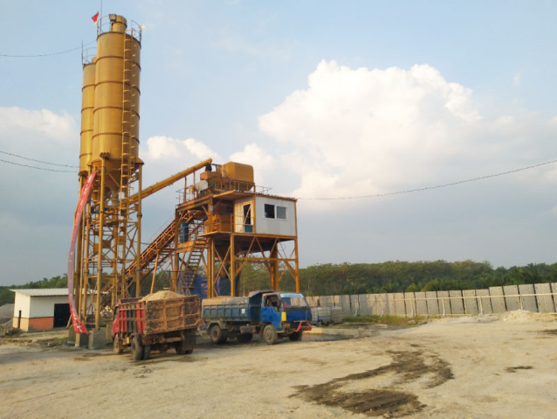 Concrete Batching Plant in Lampung Indonesia