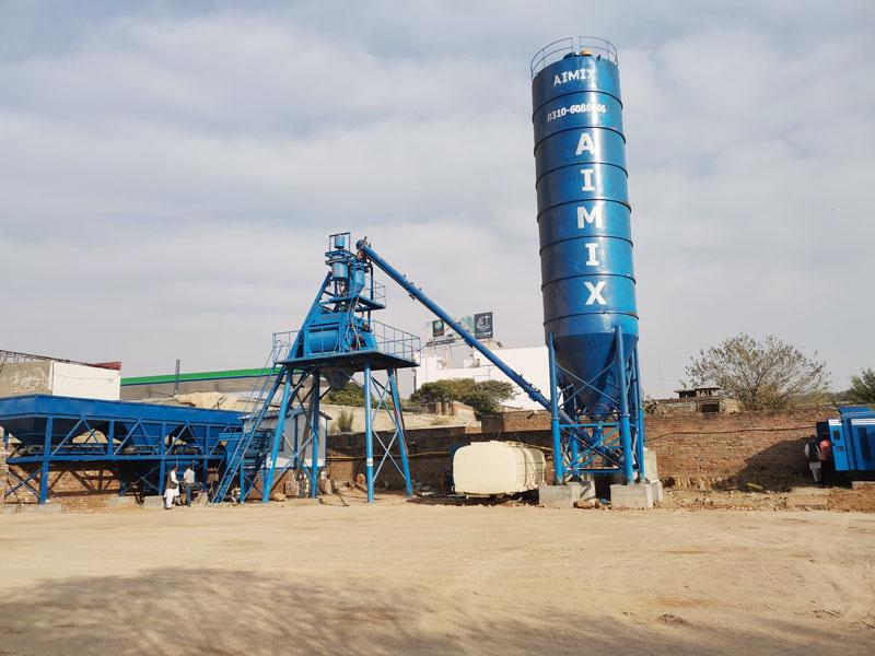 AIMIX AJ50 batching plant