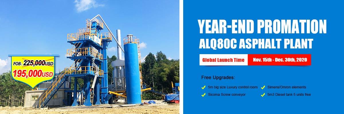 ALQ80C asphalt mixing plant year end big sale