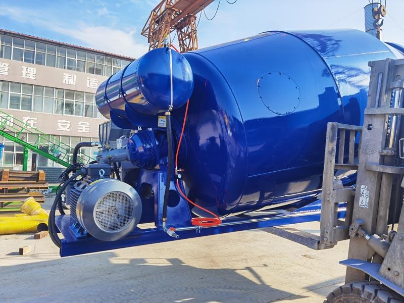 8m3 concrete mixer drum