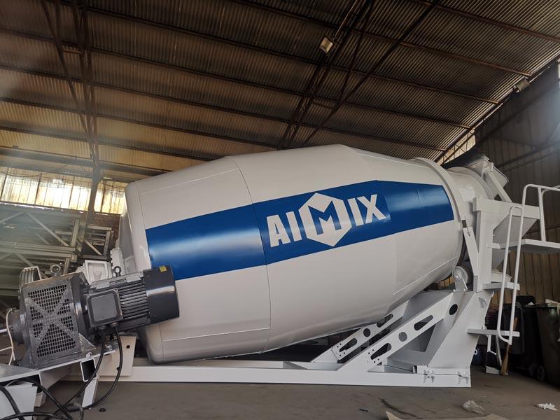 AIMIX 8m3 Concrete Mixer Drum to Indonesia