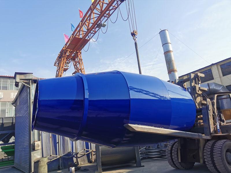 AIMIX 8m3 concrete mixer drum sent to Malaysia