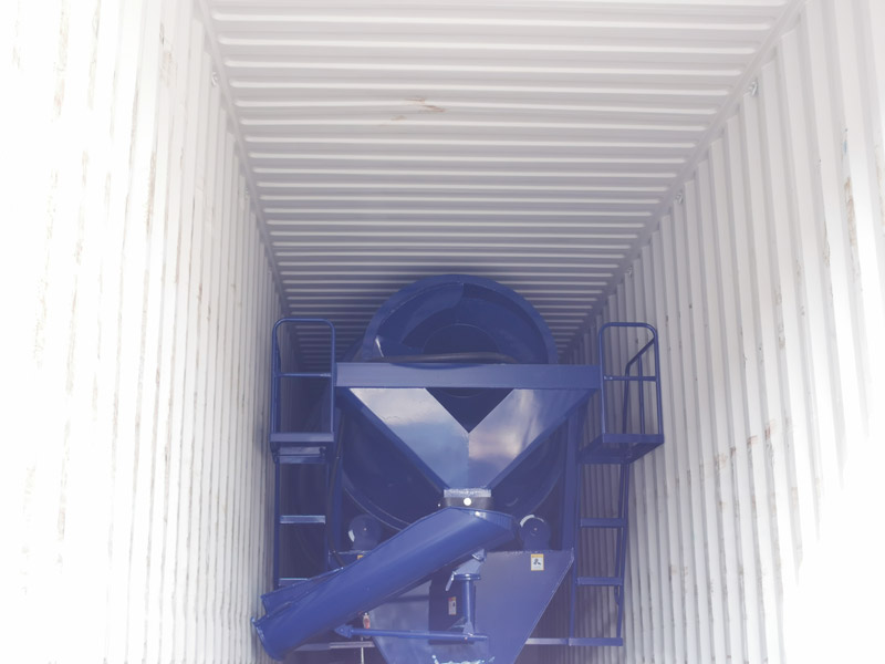 AIMIX concrete mixer drum sent to Malaysia