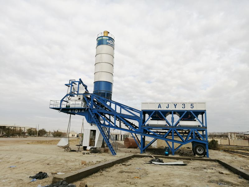 AJY35 mobile batching plant
