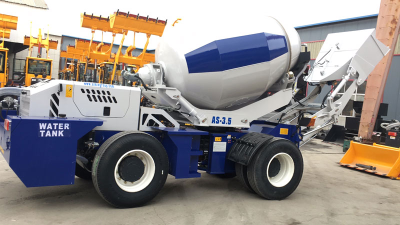 AS3.5B self loading mixer to Nigeria