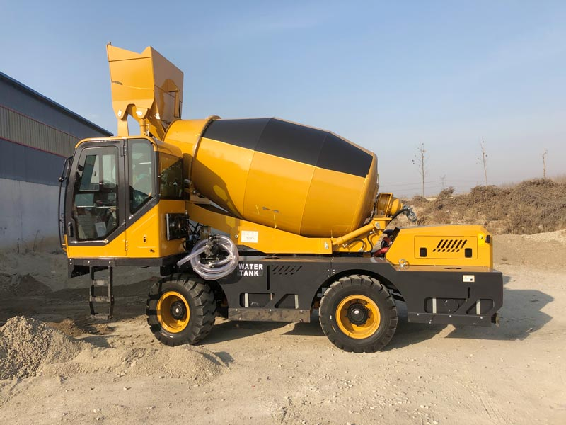 AS4.0 self loading mixer sent to Peru